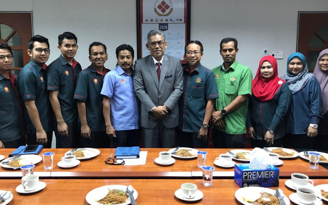 Lawatan YB Dato' Dr. Ismail Bin Salleh ke PKB pada 17 Februari 2019