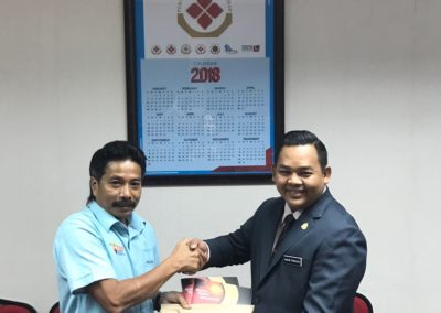 Lawatan YB Mohd Firdaus ke PKB 1
